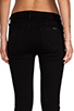Image 6 of Hudson Jeans Nico Mid Rise Super Skinny in Black