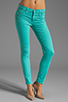 Image 1 of Hudson Jeans Nico Midrise Super Skinny in Soft Teal