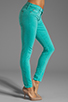 Image 2 of Hudson Jeans Nico Midrise Super Skinny in Soft Teal