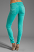 Image 3 of Hudson Jeans Nico Midrise Super Skinny in Soft Teal