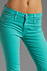 Image 4 of Hudson Jeans Nico Midrise Super Skinny in Soft Teal
