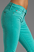 Image 5 of Hudson Jeans Nico Midrise Super Skinny in Soft Teal