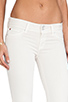 Image 5 of Hudson Jeans Ginny Crop Straight with Cuff in Shell