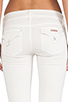 Image 6 of Hudson Jeans Ginny Crop Straight with Cuff in Shell