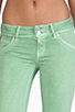 Image 4 of Hudson Jeans Beth Baby Boot Cut in Soft Sage