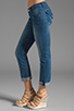 Image 2 of Hudson Jeans Bacara Straight Cuffed in Curtis