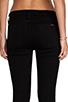 Image 6 of Hudson Jeans Charlotte Moto Skinny in Black