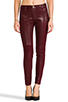 Image 1 of Hudson Jeans Stark Moto in Crimson Wax