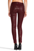 Image 3 of Hudson Jeans Stark Moto in Crimson Wax