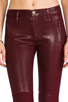 Image 4 of Hudson Jeans Stark Moto in Crimson Wax