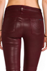 Image 6 of Hudson Jeans Stark Moto in Crimson Wax