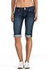 Image 1 of Hudson Jeans Palerme Cuff Knee Short in Stella