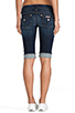 Image 3 of Hudson Jeans Palerme Cuff Knee Short in Stella