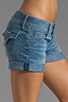 Image 5 of Hudson Jeans Croxley Mid Thigh Short in Polly