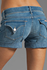 Image 6 of Hudson Jeans Croxley Mid Thigh Short in Polly