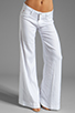 Image 1 of Hudson Jeans Gwen Midrise Wide Leg in White