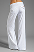 Image 3 of Hudson Jeans Gwen Midrise Wide Leg in White
