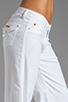 Image 5 of Hudson Jeans Gwen Midrise Wide Leg in White