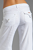 Image 6 of Hudson Jeans Gwen Midrise Wide Leg in White
