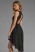 Image 1 of JARLO Allondra Tank Dress in Black