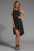 Image 2 of JARLO Allondra Tank Dress in Black
