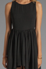 Image 5 of JARLO Allondra Tank Dress in Black
