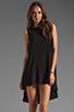 Image 1 of JARLO Leah Dress in Black
