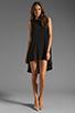Image 2 of JARLO Leah Dress in Black