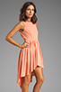 Image 3 of JARLO Allondra Dress in Apricot