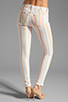 Image 3 of J Brand Low Rise Legging in Candy Stripe
