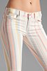 Image 4 of J Brand Low Rise Legging in Candy Stripe