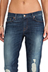 Image 4 of J Brand Midori Patch Boyfriend Skinny in Big Time