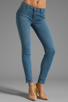 Image 1 of J Brand Mid Rise Super Skinny in Lucas