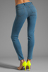 Image 3 of J Brand Mid Rise Super Skinny in Lucas