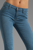 Image 4 of J Brand Mid Rise Super Skinny in Lucas