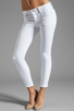 Image 1 of J Brand Retro Zip Skinny in Blanc