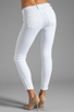 Image 3 of J Brand Retro Zip Skinny in Blanc