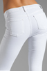 Image 6 of J Brand Retro Zip Skinny in Blanc