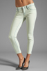 Image 1 of J Brand Low Rise Skinny in Nirvana Mint