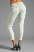 Image 3 of J Brand Low Rise Skinny in Nirvana Mint