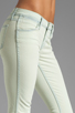 Image 5 of J Brand Low Rise Skinny in Nirvana Mint
