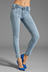 Image 1 of J Brand Mid Rise Skinny in Beryl