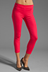 Image 1 of J Brand Clean Capri in Pink Lotus