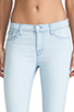 Image 4 of J Brand Mid Rise Crop Capri in Solana
