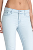 Image 5 of J Brand Mid Rise Crop Capri in Solana