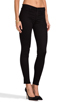 Image 2 of J Brand Mid Rise Super Skinny in Black