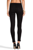 Image 3 of J Brand Mid Rise Super Skinny in Black