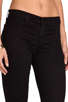 Image 5 of J Brand Mid Rise Super Skinny in Black