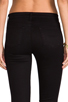 Image 6 of J Brand Mid Rise Super Skinny in Black