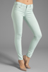 Image 1 of J Brand Midrise Power Stretch Super Skinny in Glass